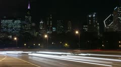 Timelapse Lake Shore Drive - stock footage