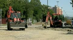 Excavators 04 Stock Footage
