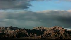 Timelapse Mojave desert Stock Footage