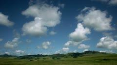 Timelapse Hearst Castle landscape Stock Footage