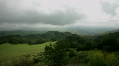 Timelapse Cambria landscape Stock Footage