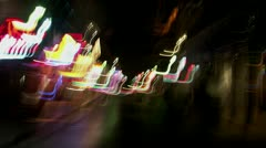 Timelapse French Quarters abstract Stock Footage