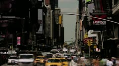 Timelapse Times Square Stock Footage