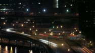 Stock Video Footage of Timelapse FDR East River Drive