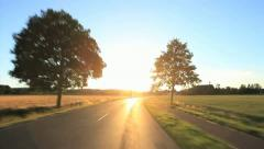 Driving Shot - Germany 10 - stock footage