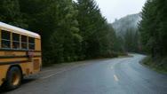 Stock Video Footage of school bus 02 HD