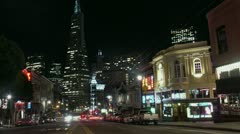 Timelapse Transamerica Tower Stock Footage