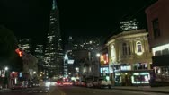 Stock Video Footage of Timelapse Transamerica Tower