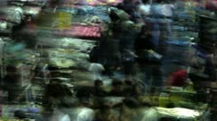Timelapse toy fair abstract Stock Footage