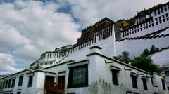 Timelapse Potala Palace Stock Footage