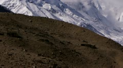 Timelapse Mount Everest landscape - stock footage