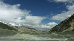 Timelapse Mount Everest base-camp Stock Footage