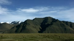 Timelapse Tingri mountain landscape Stock Footage