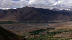 Timelapse valley landscape Stock Footage