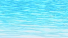 Water surface of a swimming pool Stock Footage