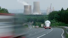 german highway - stock footage
