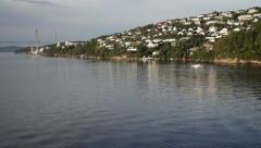 Stavanger bridge - stock footage