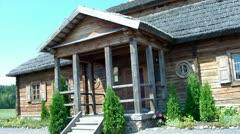 In this house was born Andrew Tadeusz Kosciuszko Bonaventure. Stock Footage