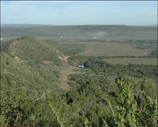Wide of Eastern Cape wilderness Stock Footage