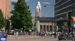 Helsinki mannerheimintie 002 Stock Footage