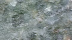 Mountain river with limpid water, rapid current and stones at the bottom Stock Footage