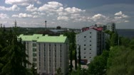 Stock Video Footage of Tampere Rauhaniemi Roof 001