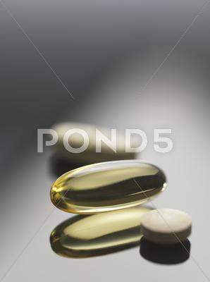 Stock photo of dietary supplements