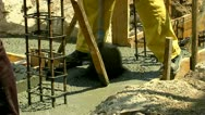 Concreting 25 fps 04 Stock Footage