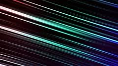 Cool Blue Lines - stock footage