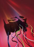 Internet service provider, artwork Stock Illustration