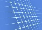Wireless mesh network, conceptual artwork Stock Illustration