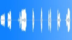 Short zippers set - sound effect