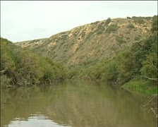 Bushman's river in the Eastern Cape Stock Footage