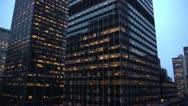 New York City - Park Avenue Buildings Stock Footage