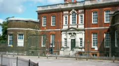 The Rangers House in Greenwich Stock Footage