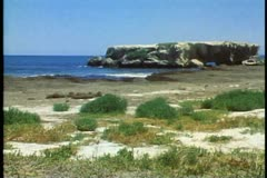 The western coastline of Australia near Perth. Stock Footage