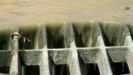 Drainage Close-Up 03 Stock Footage