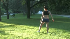 Stretching Stock Footage