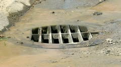 Drainage Close-Up 01 - stock footage