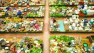 Stock Video Footage of Vegetable market.
