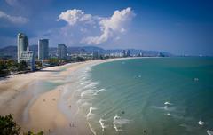 Beach Hua Hin Thailand - stock photo