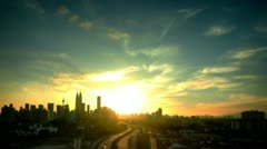 Time lapse of Kuala Lumpur City Malaysia. - stock footage