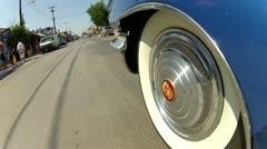 Cadillac Wheel Stock Footage