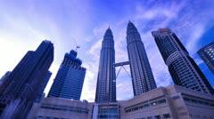Kuala Lumpur City Center - stock footage
