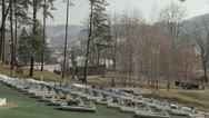 Stock Video Footage of Memorial Cementery Tuzla 5
