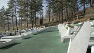 Stock Video Footage of Memorial Cementery Tuzla 8