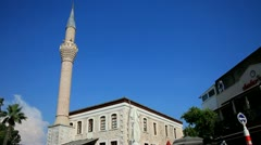 Old Mosque in Bodrum, Turkey Stock Footage