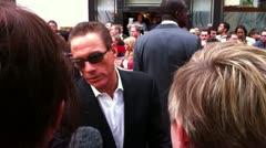 Jean Claude Van Damme Stock Footage