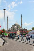 Ottoman Mosque in Istanbul, Turkey - stock photo