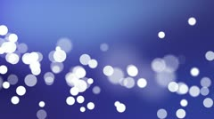 Particles Set 01 - Blue Stock Footage